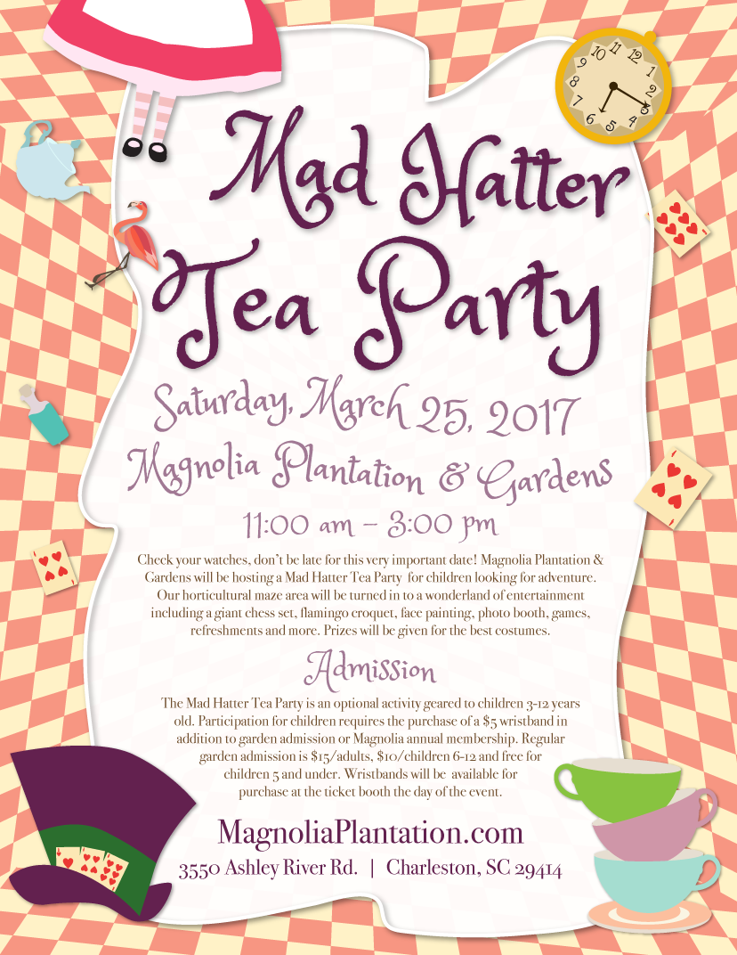 A Mad Hatter Tea Party Modern