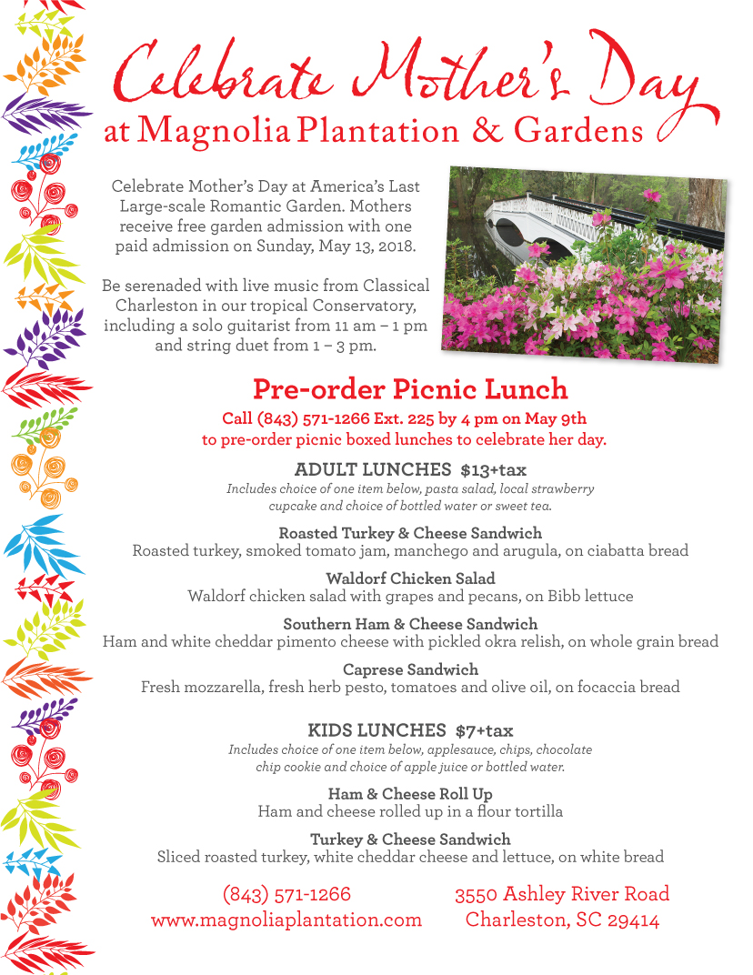 Mother's Day at Magnolia Plantation